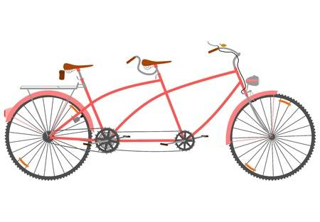 Tandem bicycle clipart 5 » Clipart Station.