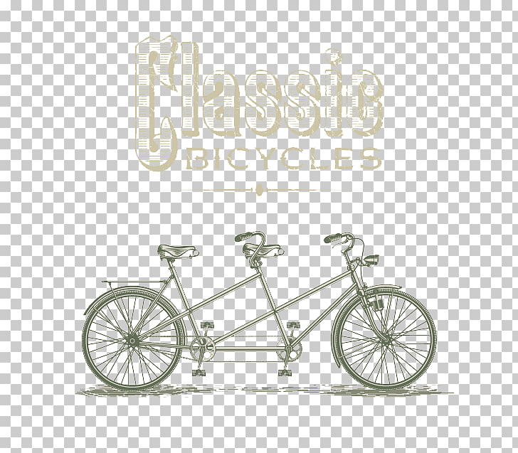 Tandem bicycle Cycling Stock photography Illustration.
