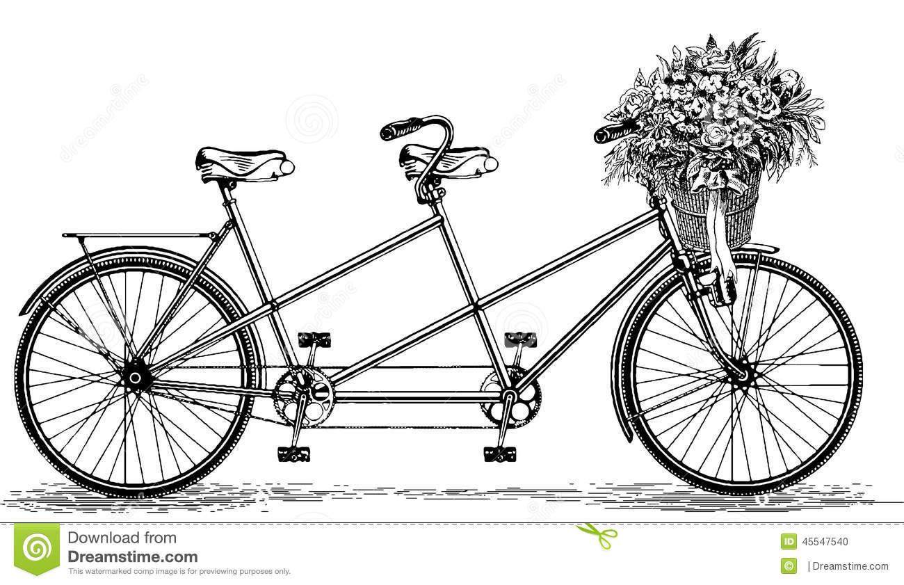 34+ Tandem Bike Clipart.