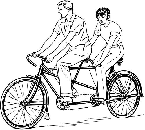 Free Tandem Bike Clipart, Download Free Clip Art, Free Clip.