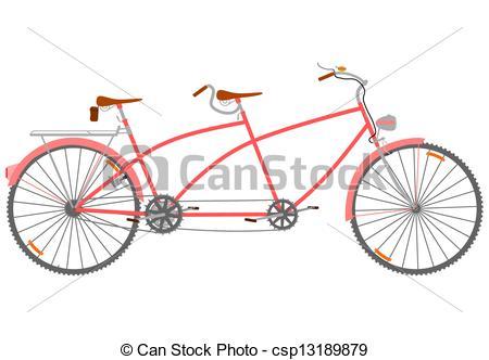 Tandem bike clipart 8 » Clipart Station.