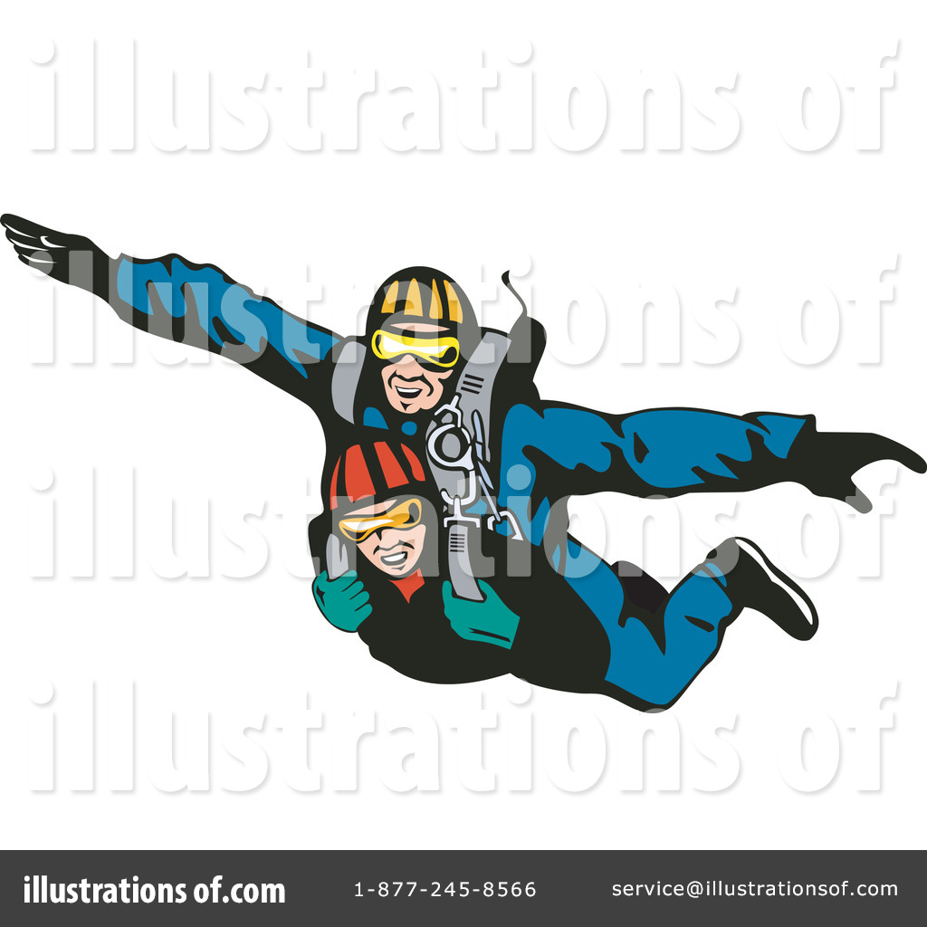 Tandem Skydiving Clipart Clipground