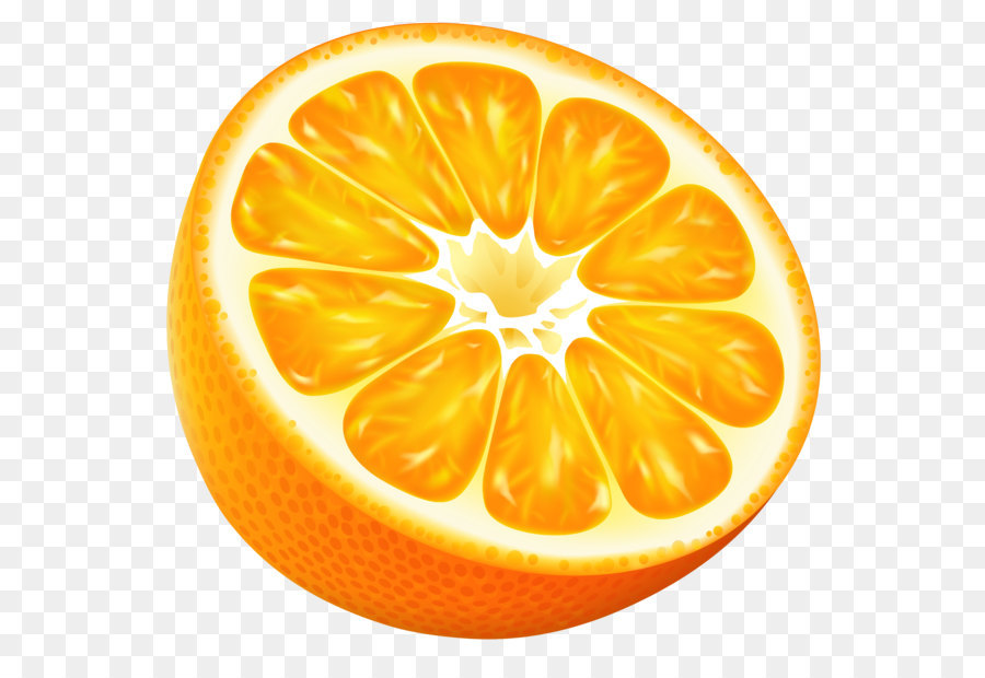 Tangerine clipart 2 » Clipart Station.