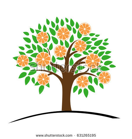 Tangerine Tree Stock Vectors, Images & Vector Art.