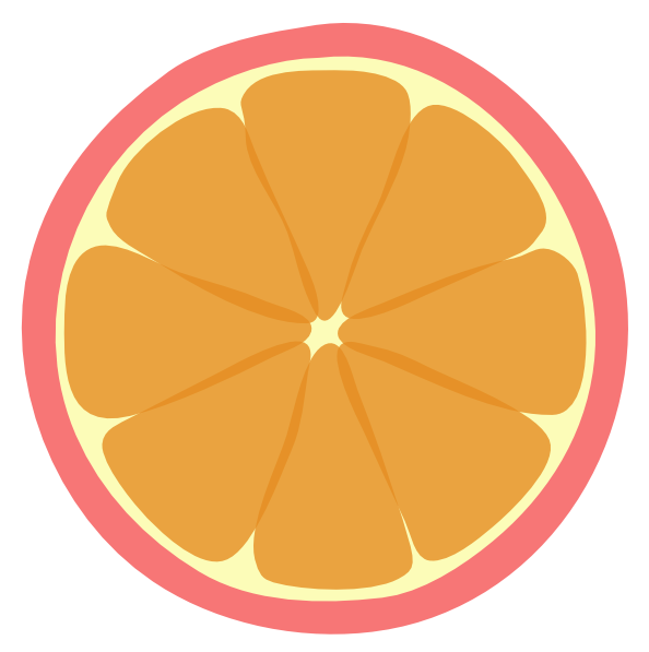 Chinese Tangerines Clipart.