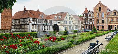 Cityscape Of Tangermunde (Saxony.
