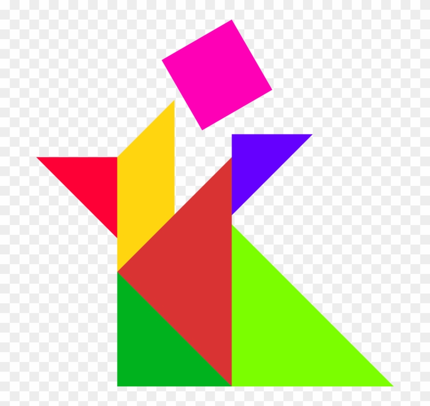 Toying With Tangrams Jigsaw Puzzles Triangle.