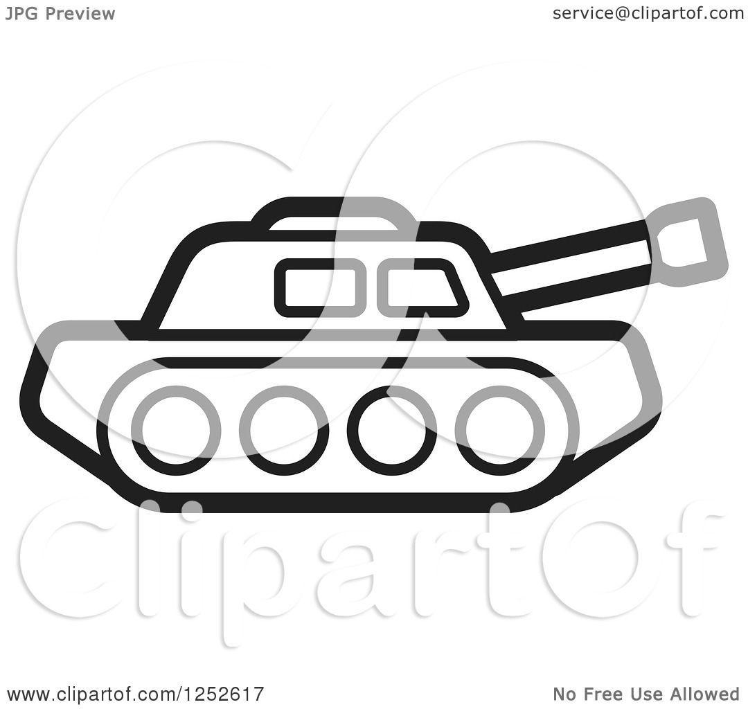 Tank clipart black and white 5 » Clipart Portal.
