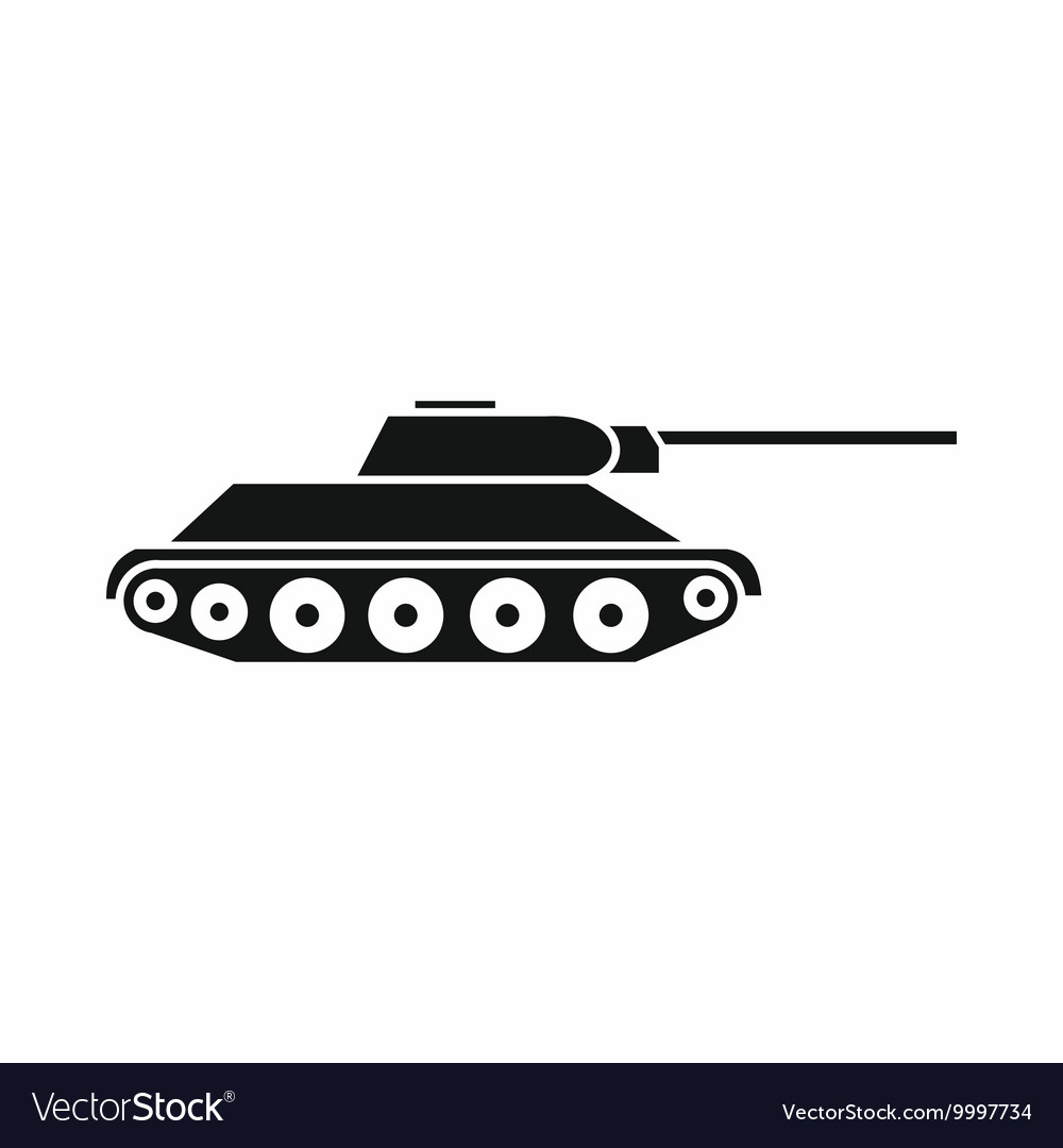 Tank icon simple style.