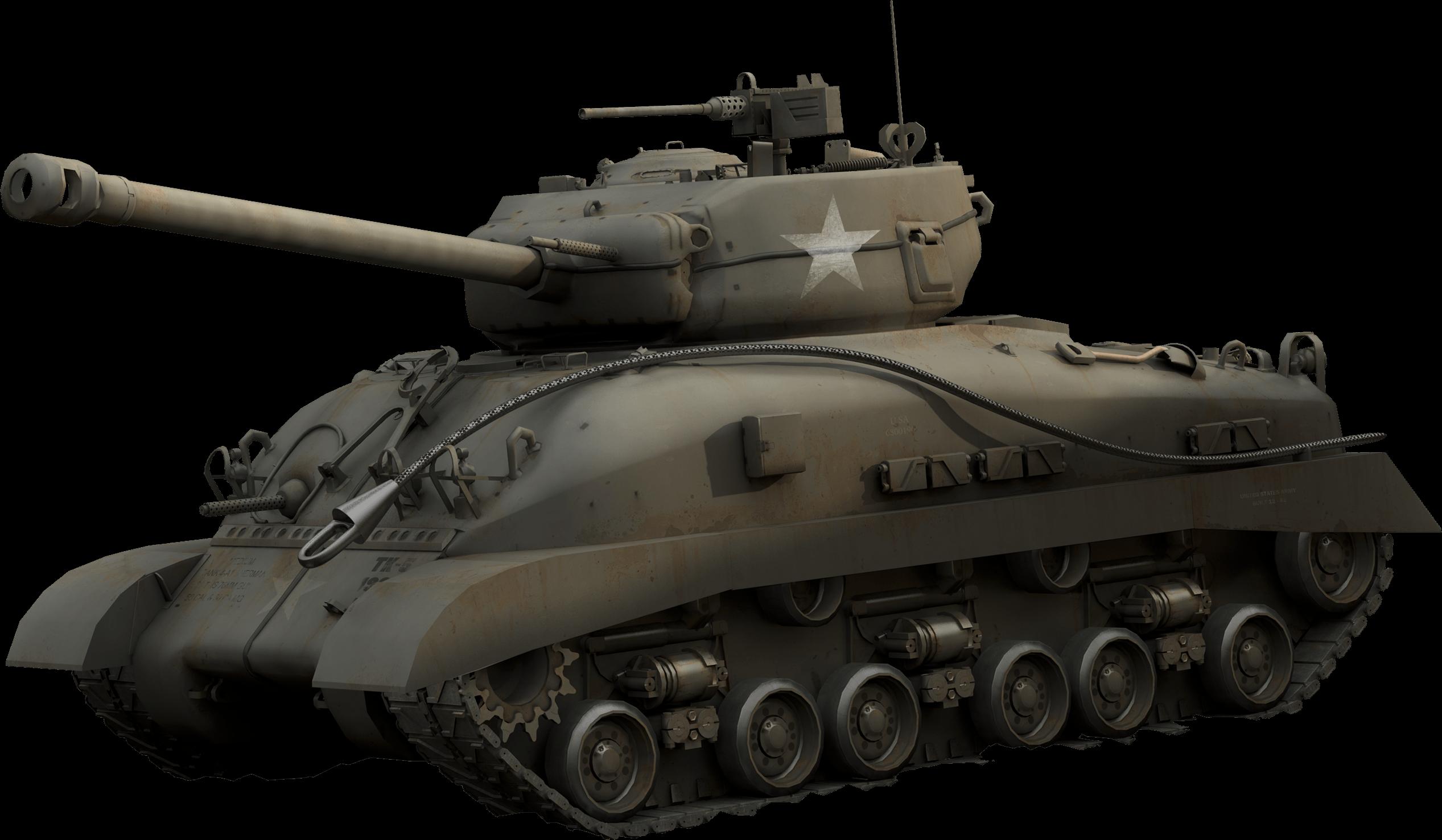 American Tank transparent PNG.