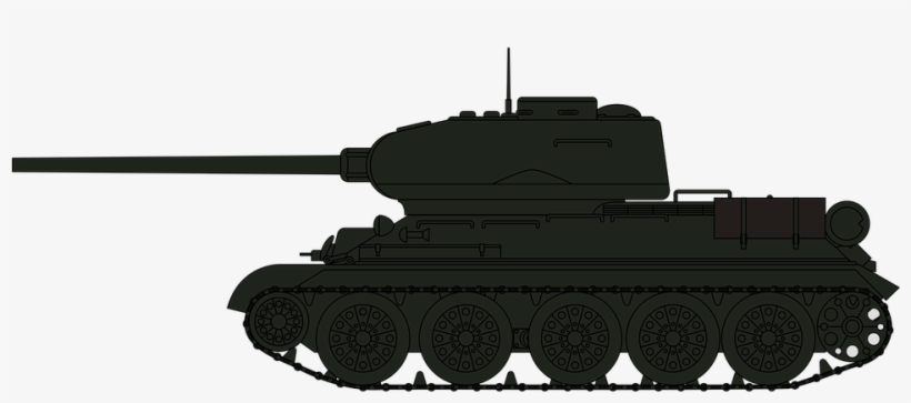 Military Tank Clipart Tank Silhouette.