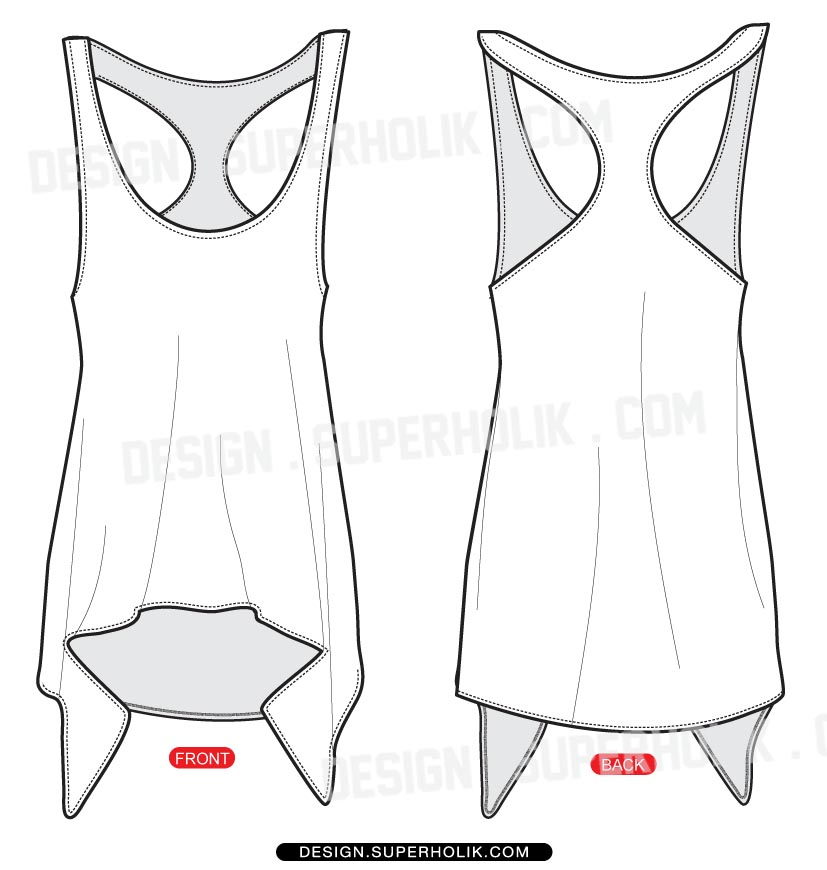 Fashion design templates, Vector illustrations and Clip.