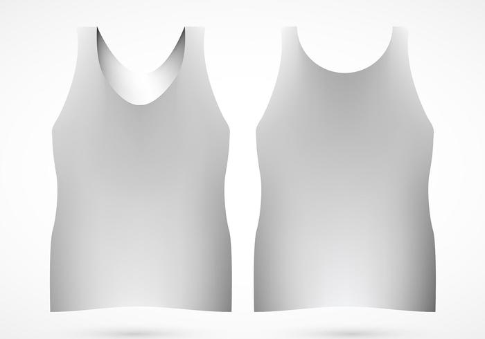 Tank Top Free Vector Art.