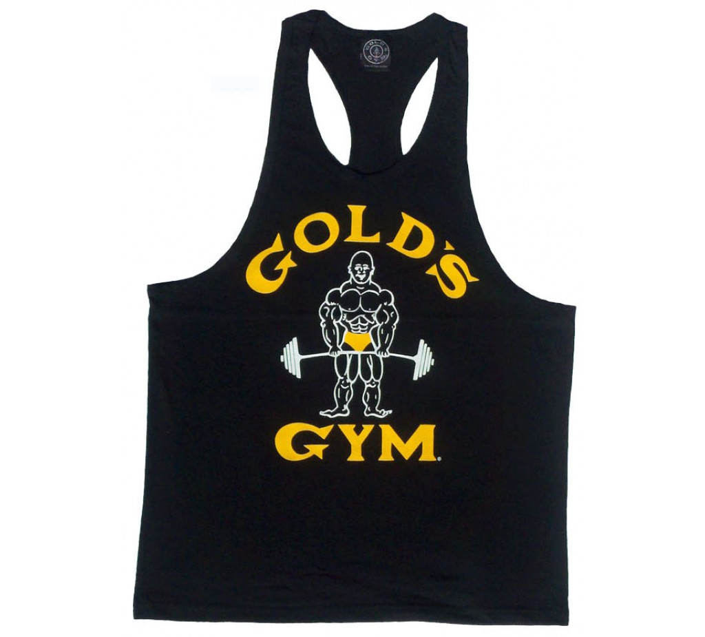 Racerback Tank Top :G310 Golds Gym Logo Racerback Tank Top Joe.