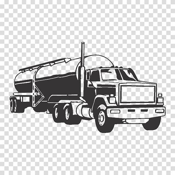 Tank truck Semi.