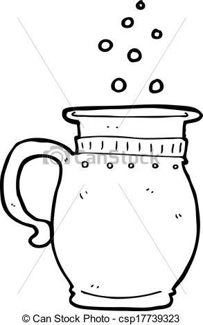 Vector Illustration of cartoon beer tankard csp17739323.