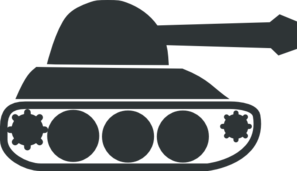 Army tanks clipart.