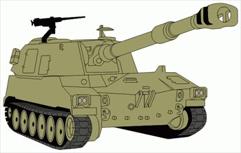 Free Tanks Clipart.