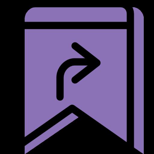 Lesezeichen,Pfeil,rechts,neben Symbol Kostenlos von Color.