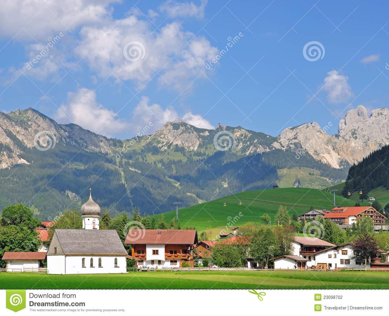 Tannheim,Tannheimer Tal,Tirol,Austria Stock Photo.