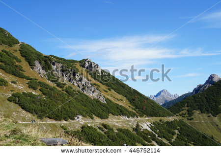 Tannheim Mountains Stock Photos, Royalty.