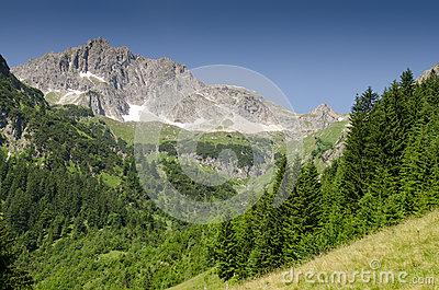 Tannheim,Tannheimer Tal,Tirol,Austria Stock Photography.