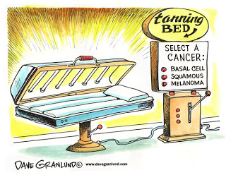 Tanning bed clipart.