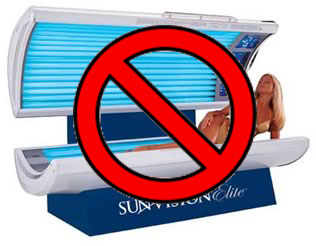 tanning beds.