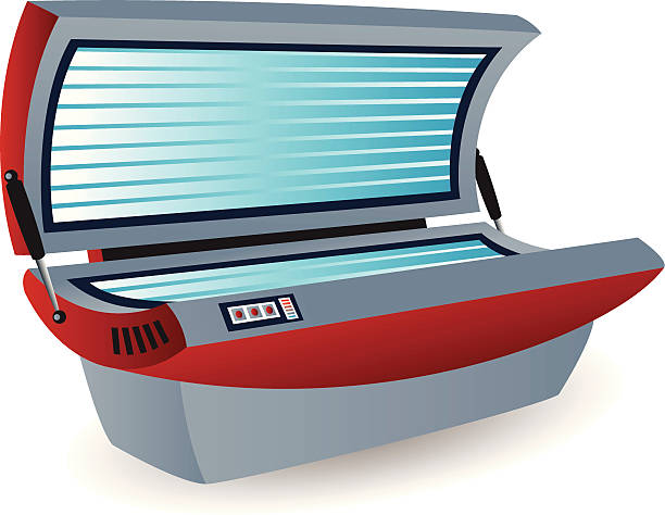 Tanning Beds Clip Art, Vector Images & Illustrations.