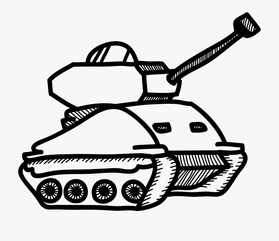 Military Tank Clipart Svg.