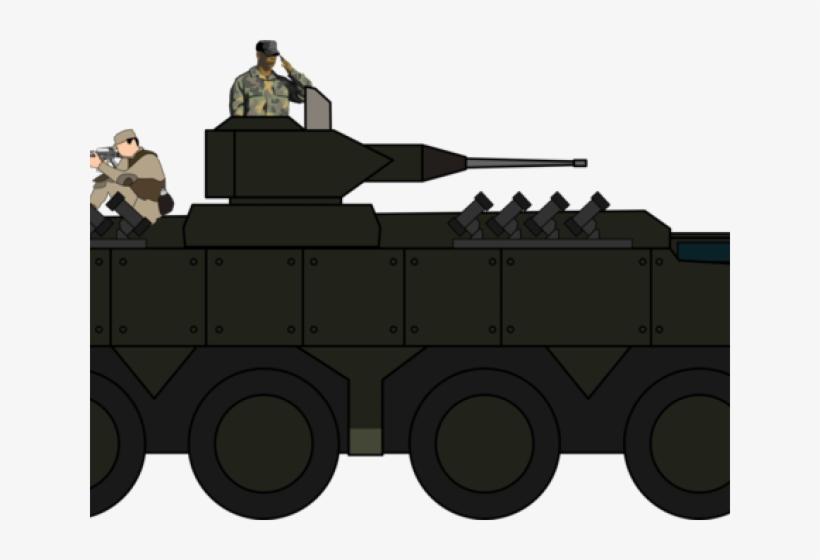Cornol Clipart Army Tank.