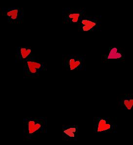 Black Love Translucent Template2 Clip Art at Clker.com.