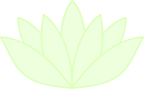 Green Lotus Translucent Clip Art at Clker.com.