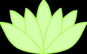 Green Lotus Translucent Clip Art at Clker.com.