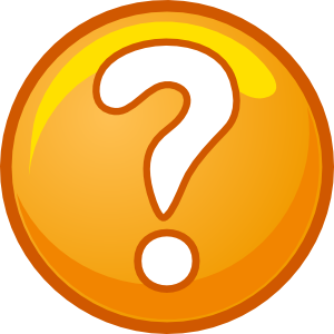 Question Mark Clip Art at Clker.com.