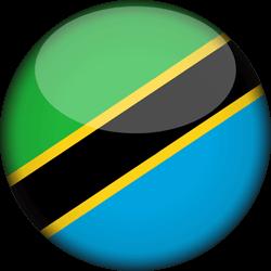 Tanzania flag clipart.