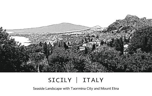Taormina Clip Art, Vector Images & Illustrations.