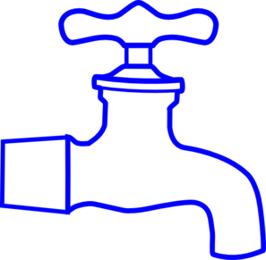 Blue Faucet Clip Art at Clker.com.