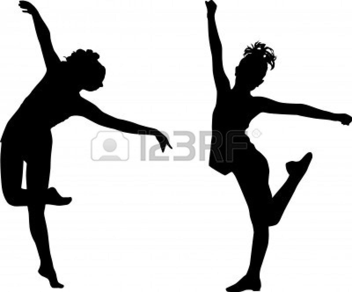 Tap Dance Silhouette.