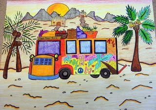 BluemoonPalette: Haiti Tap Tap Bus.