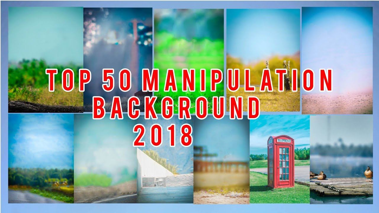 Top 50 Manipulation Background 2018.