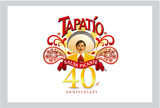 My design for the 40th anniversary logo for Tapatio Hot.