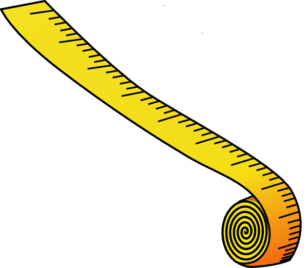 Measuring Tape Clipart Free.
