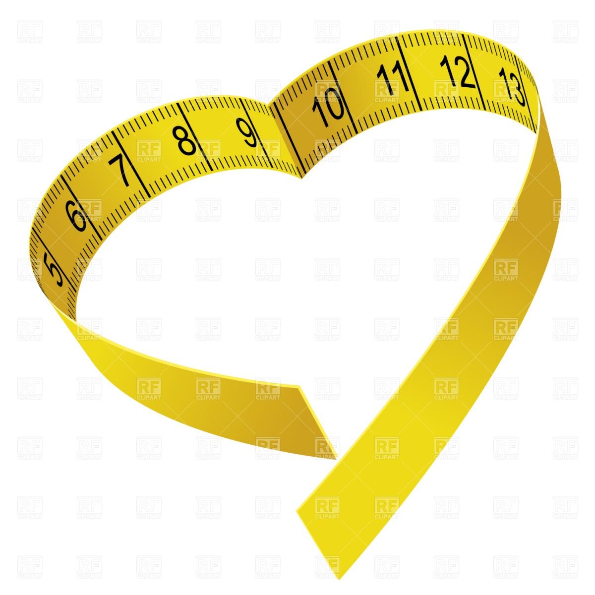 Body Tape Measure Clipart.