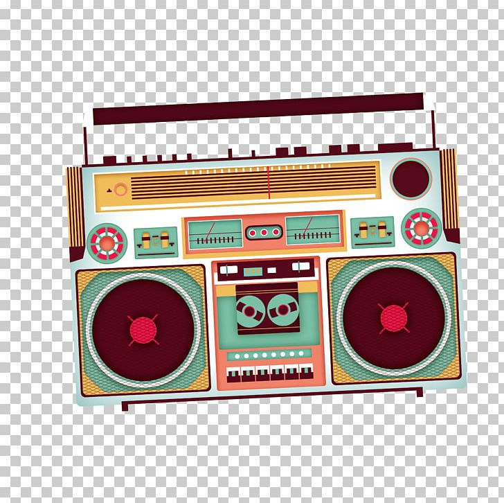 Poster Tape Recorder PNG, Clipart, Boombox, Brand, Broadcast.