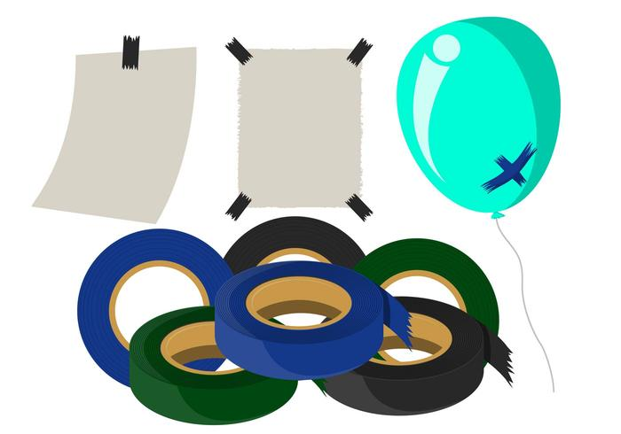 Duct Tape Vector Pack.