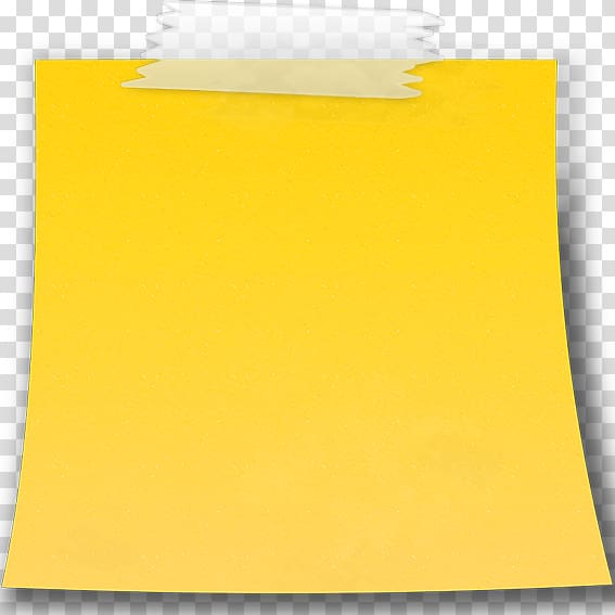 Yellow background, Paper Post.