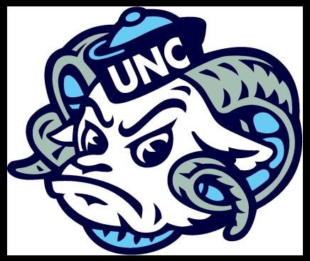 Unc Tar Heels logo, free vector logos.