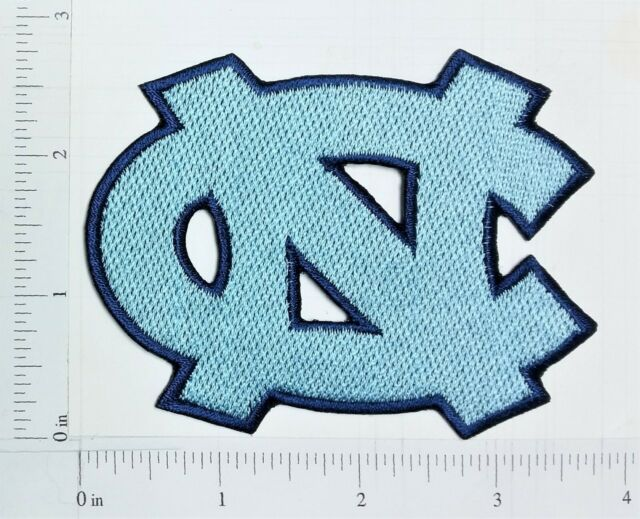 NCAA U of North Carolina Tar Heels Logo embroidered Iron on Patch High  Quality.