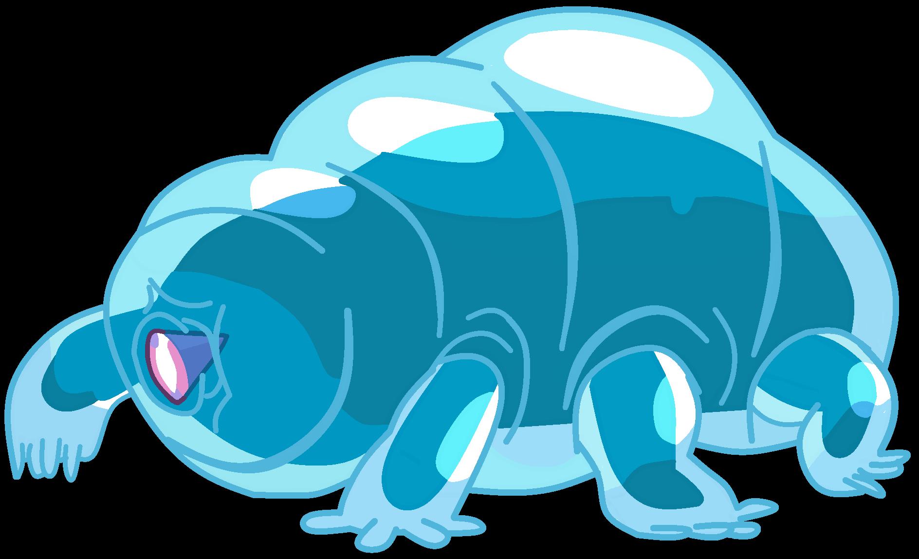 Manatee clipart tardigrade, Manatee tardigrade Transparent.